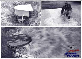 Examples of Agpro's Flush Valves in action.